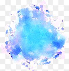 Aquarela, Grafite Azul