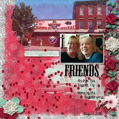 Diane and myself met at the Anchor Bar in Buffalo, NY. We had not seen each other in about 8 years. Kit used: Reflective by PattyB Scraps Kit link:  http://www.godigitalscrapbooking.com/shop/index.php?main_page=product_dnld_info&cPath=29_335&products_id=28780 Template used: Arty Inspiration 8b by Heartstrings Scrap Art Template link:  https://www.digitalscrapbookingstudio.com/personal-use/templates/arty-inspiration-8/