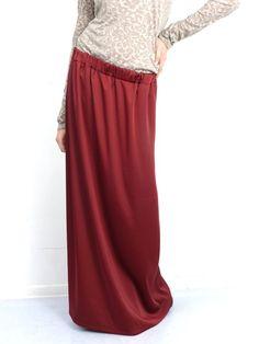 #spodnica #maxi #bordo #burgund