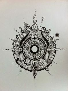 The intricacy and delicacy is just lovely. Potential ink idea for someone