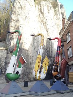 The Saxophone City | Dinant, Belgium... i want to go there!!