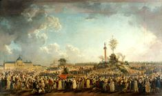 The Festival of the Supreme Being, by Pierre-Antoine Demachy (1794).