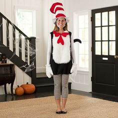 dr seusss cat in the hat costume - Cat In The Hat Halloween Costume Ideas