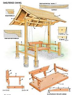 Instant Access to Woodworking Plans and Projects - TedsWoodworking Backyard Projects, Outdoor Projects, Garden Projects, Home Projects, Garden Furniture, Diy Furniture, Woodworking Plans, Woodworking Projects, Wood Crafts