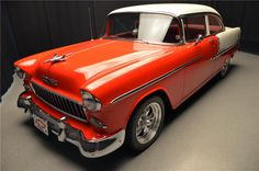 1955 CHEVROLET BEL AIR Lot 652 | Barrett-Jackson Auction Company