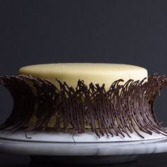 Everything's better with chocolate! 🍫🍰😍 - Amazing chocolate cakes and recipes. Amazing chocolate cakes and recipes. Amazing chocolate cakes a - Cake Decorating Techniques, Cake Decorating Tutorials, Cookie Decorating, Chocolate Garnishes, Food Garnishes, Garnishing, Decoration Patisserie, Dessert Decoration, Food Cakes