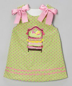 Loving this Green Princess & the Pea A-Line Dress - Infant, Toddler & Girls on #zulily! #zulilyfinds