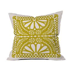 Picado Pillow in Pear