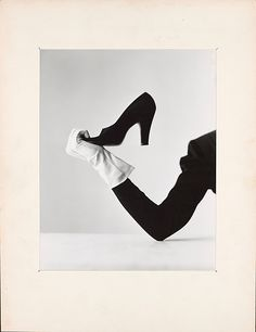 Glove and Shoe, New York, Irving Penn (American, Plainfield, New Jersey 1917–2009 New York), Gelatin silver print