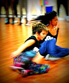 I took this photo of Camren Bicondova and Kaylin Harris at a Hip Hop Instensive Workshop at  AbstraKT BEINGS  in Long Island! Funny to find it on Pintrest!