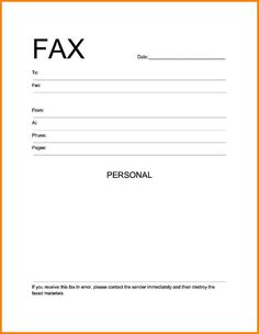 Fax Cover Sheet Template Word Letter Resume Blank Cashier Resumes