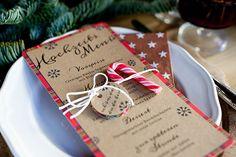 Weihnachtshochzeit | Friedatheres.com  stationery by farbgold