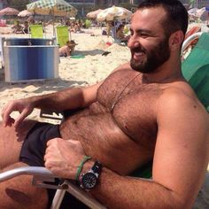 beefy at the beach