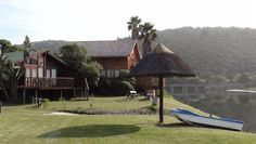 Pirates Creek Holiday Resort - Pirates Creek is situated in the heart of the Garden Route on the Touw River in Wilderness, with 15 self-contained chalets. Our up market log cabins and wooden chalets are all self-catering, fully equipped ... #weekendgetaways #wilderness #southafrica