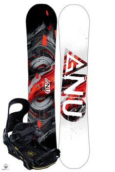 Komplet Snowboardowy Deska Wiązania Gnu Carbon Credit Asym 159W