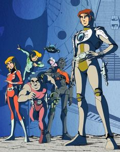 Classic Comics, Classic Cartoons, Bernard Minet, Character Art, Character Design, Space Opera, Fallen Empire, Captain Harlock, Animation