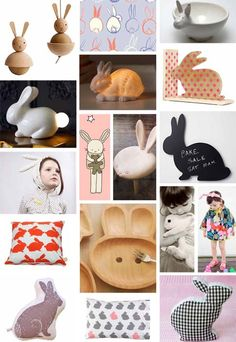 Animals are always a favourite theme for kids' rooms. Next Spring and Summer will see the bunny taking centre stage.