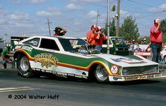 Billy Meyer had one of his best years in 1980 with the Hawaiian Tropic Citation. Funny Car Drag Racing, Nhra Drag Racing, Funny Cars, F1 Racing, Funny Looking Cars, Street Racing Cars, Top Fuel Dragster, And So It Begins, Abandoned Cars