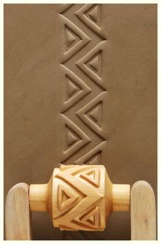 At Georgies: MKM Wooden Potters' Ribs, Texture Rollers & Design Stamps