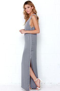 In Your Court Grey Maxi Dressat Lulus.com!