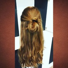 Long and simple with an edgy twist. Sometimes you don't need to go all out to create a fashion statement. Stay tuned for my next original styles.  #hair #hair design #bun #twist #frenchtwist #sheitel #sheitels #wig #wigs #goldenlocks #lahair #losangeleshair #hairstylist #2016design #blonde #beauty #girls #women by golden_locks_by_yehudis