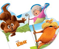 Earth Day another pinner says: A TON of free Lorax activities from HP Dr Seuss Birthday Party, Birthday Party Themes, 2nd Birthday, Free Printables, Printable Bookmarks, Learning Activities, Teaching Ideas, Boys And Girls Club, The Lorax