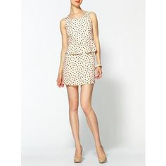 Boundary & Co. peplum mini dress