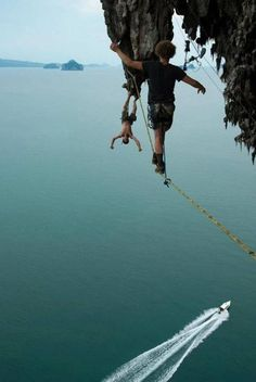 Life on the edge is simply a passion the adrenalin junkies can't live without. It's like a drug - if they don't get their adrenalin shot from time to time,