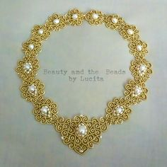 Pearls Filigree Necklace