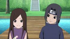 Naruto Shippuden - Itachi and Izumi Naruto Girls, Anime Naruto, Sarada Uchiha, Naruto Shippuden Sasuke, Sasunaru, Itachi And Izumi, Naruto Sasuke Sakura, Mangekyou Sharingan, Naruto Shippuden Characters