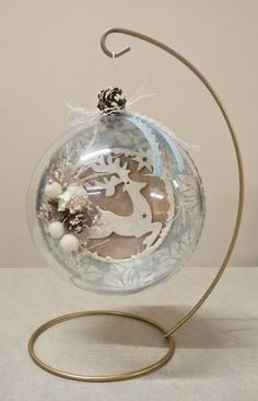 Special Christmas ball by Thoulie on Etsy