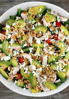 Easy healthy mix #salad