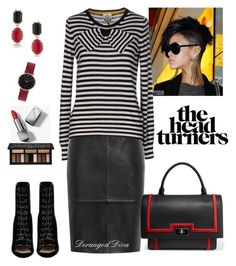 """""""Boss Chic Motivation"""" by derangeddiva on Polyvore featuring philosophy, Reiss, So Nice, Barbara Bui, Givenchy, 1st & Gorgeous by Carolee, Abbott Lyon, Burberry and Kat Von D"""
