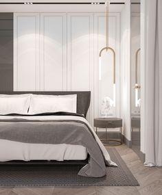 С первым рабочим днём, друзья!🎊 праздники закончились и это значит, мы потихооооньку вклиниваемся в режим) Желаю всем плодотворного 2018 года♥️. Представляю вам (пока что эскиз) новой спальни, в двухуровневой квартире. —--—--—--—--—–——— #3d #3dmax #design #interiordesign #designmoscow #moscow #interior #demidovichdesign #style #decor #homedecor #wood #дизайнквартиры #дизайнкухни #дизайнгостинной #кухнягостиная #жкфилиград #филиград #дизайн #дизайнинтерьера #дизайнмосква #дизайнпроект #интер... Master Bedroom Design, Home Bedroom, Modern Bedroom, Modern Home Interior Design, Interior Architecture, Boutique Hotel Room, Luxurious Bedrooms, Decoration, Lightning