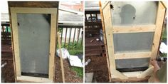 Cómo hacer un refrigerador con una nevera rota y 4 palets Outdoor Refrigerator, Woodworking Crafts, Ladder Decor, Playroom, Home Decor, Sierra Circular, Barbacoa, Ideas Para, Mandala