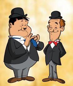 Stan Laurel i Oliver Hardy