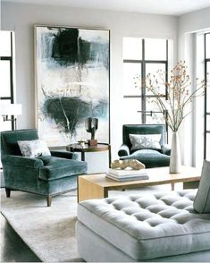Extra large wall art artwork paintings, Very large paintings, Large living room canvas, Extra large wall decor,Huge abstract paintings - Living room inspiration - Chair Design Elegant Living Room, Living Room Grey, Living Room Modern, Interior Design Living Room, Small Living, Living Area, Living Room Elle Decor, Color Interior, Luxury Interior