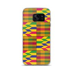 3083ea9bb2 Items similar to Kente Print Samsung Case-Yellow-Blue-African-Afrocentric-Samsung-phone  cases-cellphones-cell phone cases-electronics-phone ...