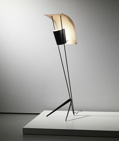 "scandinaviancollectors: "" PIERRE GUARICHE, 'Cerf-Volant' standard lamp, model…"
