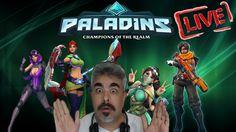 ► PALADINS ◄ LIVE JOGANDO E CONVERSANDO A GALERA 30/12 #4300SUBS