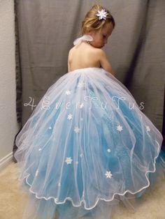 Frozen princess tutu dress