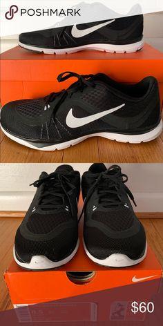 the latest b325c 96d29 Nike Flex 6 Training Shoe Black White Nike Women Flex Trainer 6 sneaker Low  top lace
