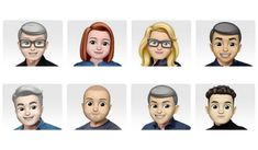 Apple adds the Memoji avatars of all its leading executive to celebrate the world emoji day and give a glimpse of the upcoming feature for iPhone X users. Instagram Video App, Ios Emoji, World Emoji Day, Emoji Characters, Iphone App Development, New Emojis, Face Id, New Iphone, Avatar