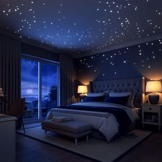Outer space room decor bedroom new on innovative awesome boy bedrooms ideas dreams and wishes kid . Bedroom Themes, Home Decor Bedroom, Bedroom Ideas, Bedroom Images, Bedroom Wall, Aesthetic Room Decor, Dream Rooms, Home Interior, Home Decor Accessories