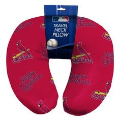 St. Louis Cardinals MLB Beadded Spandex Neck Pillow (12in x 13in x 5in)