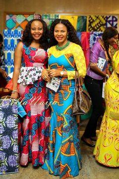 "Beautiful People & Colourful Frocks in Lagos! Photos of Chidinma, Lanre DaSilva-Ajayi, Ezinne Chinkata, Latasha Ngwube & More at the launch of Vlisco's ""Jeu de Couleurs"" Collection | Bella Naija"