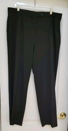 e510459a827 Women's JM Collection Black Polyester Dress Pants - Size 20W - Preowned -  EC #fashion #clothing #shoes #accessories #womensclothing #pants (ebay link)