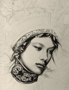 by Lucy Hardie (work in progress (detail)