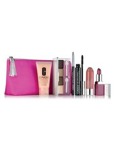 Hudson's Bay | Clinique Merry and Bright Six-Piece Makeup and Skincare Set | #haircaregiftset, #haircaregiftsets