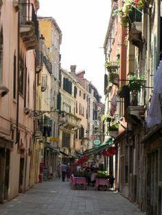 Street Scene in Venice, ITALY